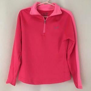 Champion C9 Pink Performance ¼ Zip Pullover Top